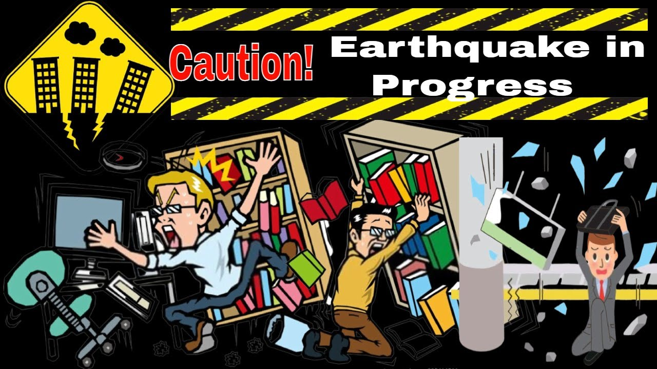 🌎Earthquake HSE preparation and accident Prevention | Earthquake Workplace health and Safety | OHS