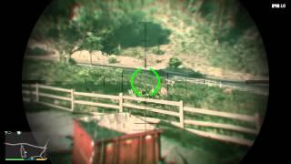 Gta 5 shooting cows
