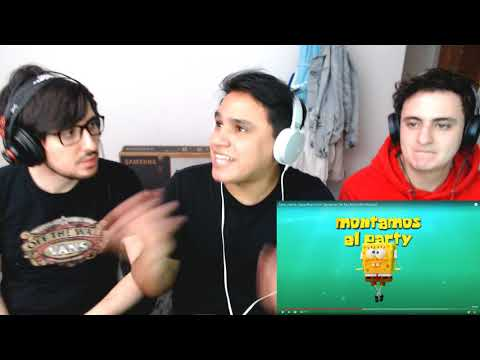 """[Reacción] Tainy, J Balvin – Agua – Music From """"Sponge On The Run"""" Movie 