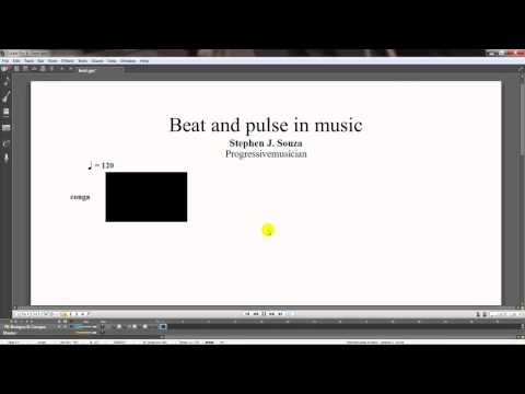 The beat and pulse in music  Please consider voting and or subscribing to this channel