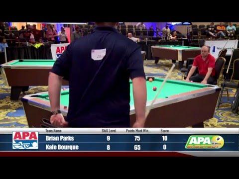 Finals - 9-Ball Shootout Championship - 2016 APA Poolplayer Championships