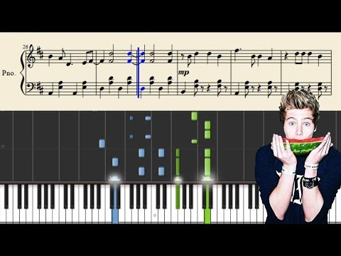 5 Seconds Of Summer - Hey Everybody! - Piano Tutorial + Sheets