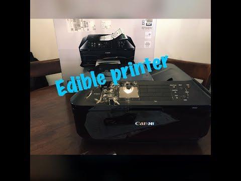DIY- Edible Printer Canon MX922