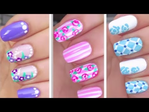 Simple Nail Art Designs for Beginners Step by Step Tutorial Part - 18 -  YouTube - Simple Nail Art Designs For Beginners Step By Step Tutorial Part