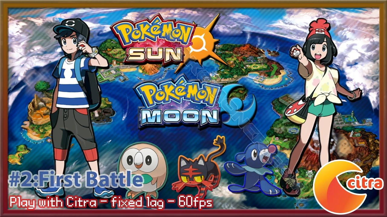 Pokemon Sun & Moon - Play on PC