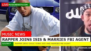 Rapper Joins Isis and Marries FBI Agent