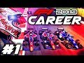 F1 2019 CAREER MODE Part 1: Our Journey to F1! Full F2 Story Mode Playthrough!