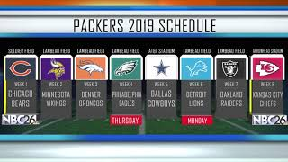 Packers 2019 schedule officially announced