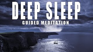 Deep sleep Guided Meditation, Relaxation for insomnia and stress