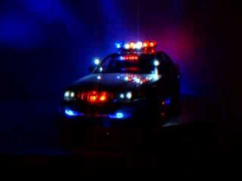 Ford police car working light bar youtube ford police car working light bar aloadofball Choice Image