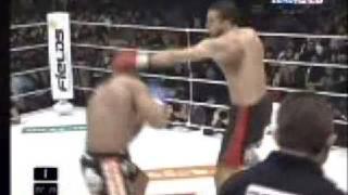 K-1  Dynamite 2008 - Badr Hari vs Alistair Overeem