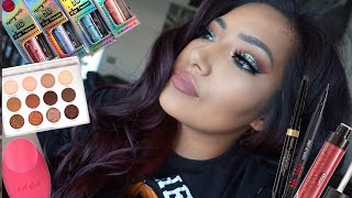 GRWM: J.Cat Beauty Holographic 3D Eye Topper + Using NEW Makeup Products! - Alexisjayda
