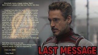 Avengers Endgame's Iron Man, Black Widow and Captain America Have a Last Message for You   Tribute