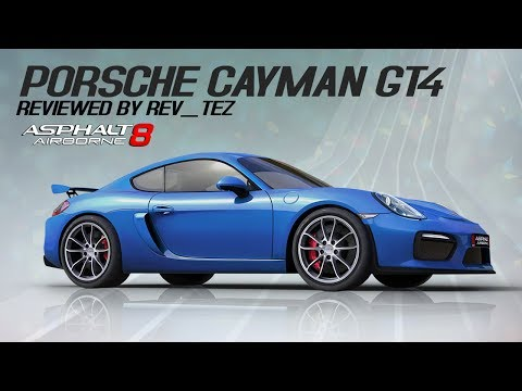 Porsche Cayman GT4 - Review by Rev_Tez