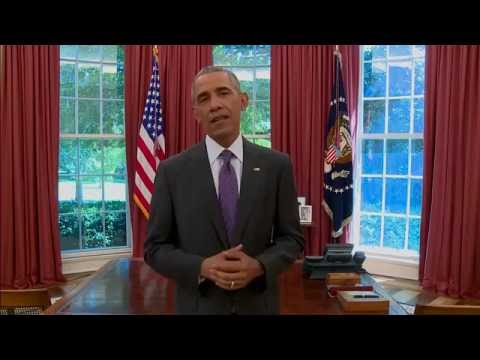President Barack Obama's awesome tribute to Muhammad Ali. HoopJab