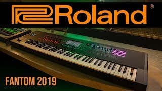 Roland Fantom 2019 | Hands on | Deutsch