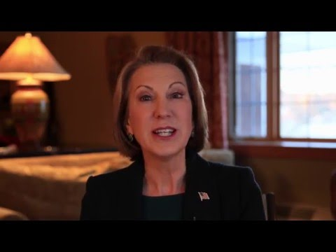 What does 2016 Presidential Candidate Carly Fiorina think about the tech industry?