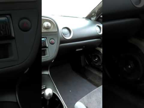 92 civic with Rsx Type S dashboard