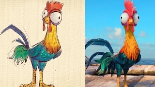 How to Draw Heihei from Disney's Moana | Quick Draw | Disney LIVE