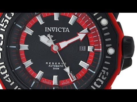 Invicta Men's Reserve 23031 Automatic Stainless Steel and Silicone Casual Watch