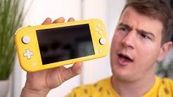 Nintendo Switch lite Unboxing: Wie sinnvoll ist eine nicht switch-bare Switch? - felixba