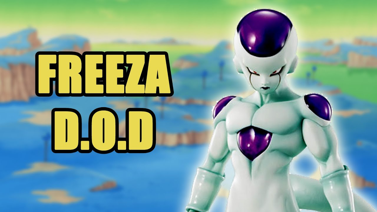 Dimension of Dragon Ball D O D Freeza Unboxing