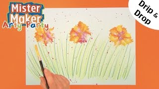 Drips & Drops Make | Arty Party | Mister Maker