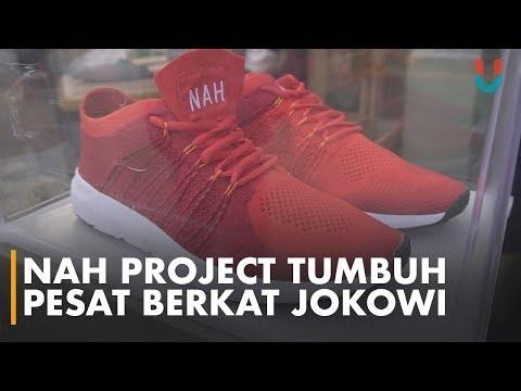 Kisah NAH Project, Sepatu Asal Bandung Yang Dipakai Jokowi