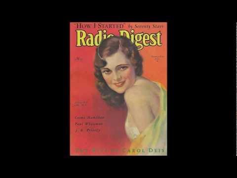 Love Her By Radio, Billy Jones, Edison Diamond Disc 50982 (1922)