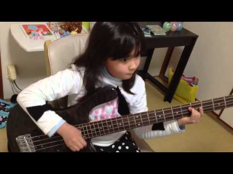 ロックスミス-Audrey Plays BASS - Jessica - The Allman Brothers Band (111k) (ROCKSMITH)