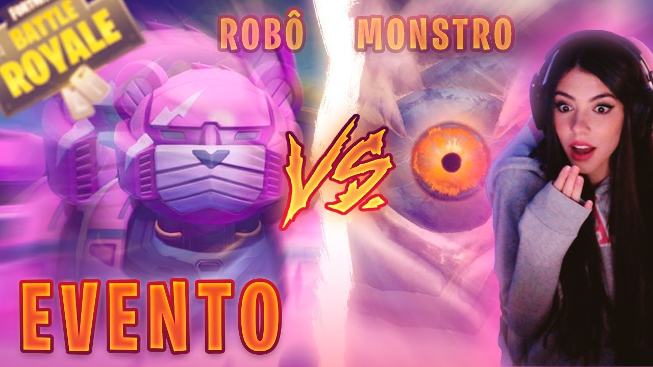 MII ESQUIERDO - EVENTO MONSTRO X ROBÔ (MECHA) | FORTNITE