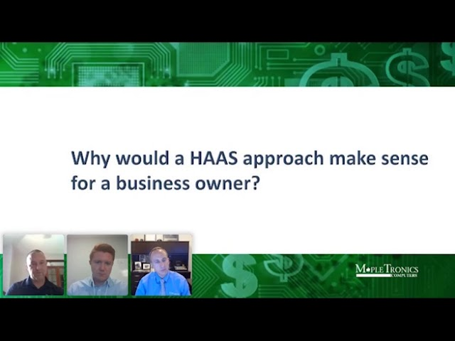 Is a Hardware as a Service (HAAS) Model the Right Choice for my Organization?