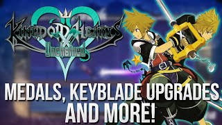 Kingdom Hearts Unchained X News - Medals, Keyblade Upgrades and More!