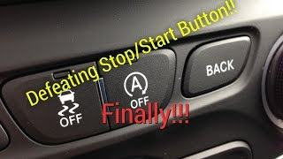 Jeep Cherokee Start/Stop button Defeated??