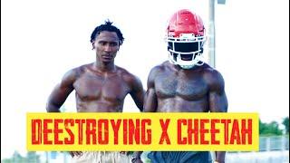 @Deestroying CAME THROUGH to KC | Tyreek Hill & Sammy Watkins Field Workout VLOG