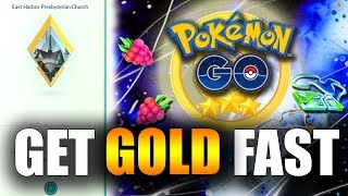 THE FASTEST WAY TO GET A GOLD GYM IN POKEMON GO! REMOTE FEED BERRIES! Pokemon Go Gen 2 EP43