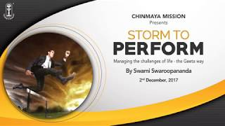 Storm to Perform - Swami Swaroopananda