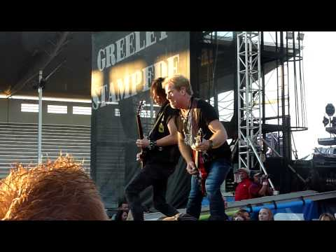 Night Ranger - Touch Of Madness - Greeley Stampede - Greeley, CO - 6-27-2015