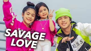 SAVAGE LOVE - Jason Derulo Siblings Dance (Family Assemble) | Ranz and Niana ft natalia