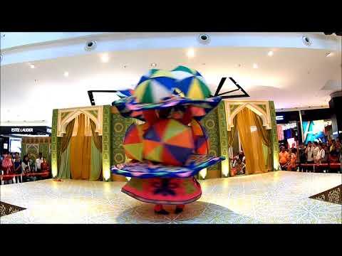 Umbrella Tanuora dance performance Malaysia