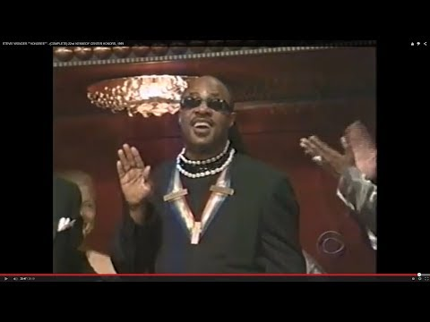 "STEVIE WONDER """"HONOREE"""" - (COMPLETE) 22nd KENNEDY CENTER HONORS, 1999"