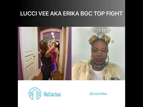 Lucci Vee aka Erika BGC Top Fights Reaction Video