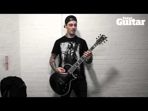 Me And My Guitar interview with Motionless In White's Ryan Sitkowski w / ESP LTD EC-1000 Deluxe