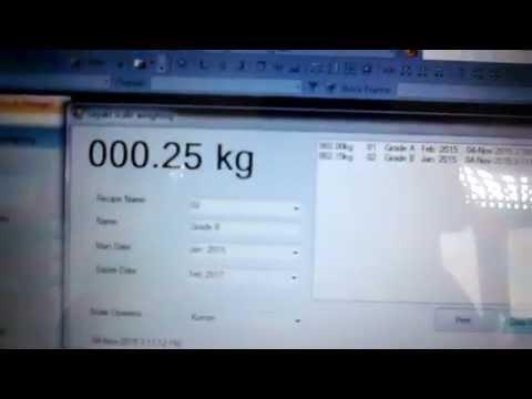 VB NET weighing software -sayaki