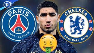 Le PSG offre 70 M€ à l'Inter pour arracher Achraf Hakimi | Revue de presse