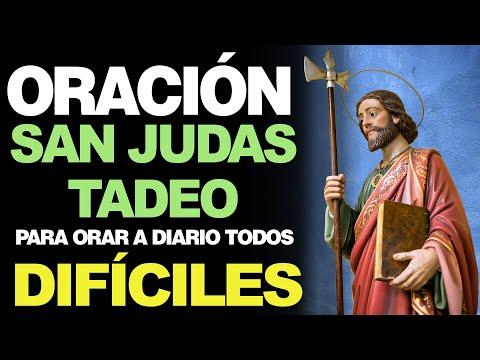 🙏 Oración de San Judas Tadeo PARA ORAR A DIARIO TODOS LOS DÍAS 🙇️