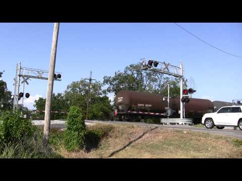 Bastrop, Louisiana - KCS Isobutane Train. (09/04/2012)