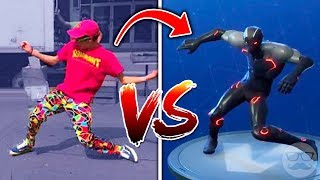 Top 13 FORTNITE New Dances In Real Life