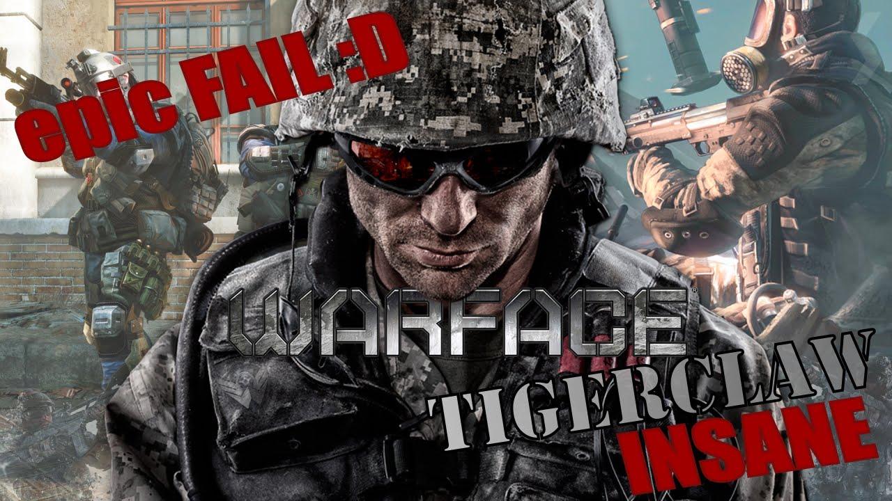 Download Warface - TIGERCLAW #INSANE - Failed