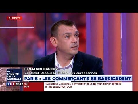 Benjamin Cauchy débat sur LCI